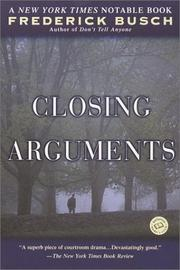 Cover of: Closing arguments