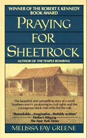 Cover of: Praying for Sheetrock | Melissa Fay Greene