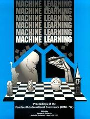 Cover of: Machine Learning 1997 International Conference | Douglas H., Jr. Fisher