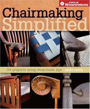 Cover of: Chairmaking Simplified