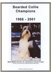 Cover of: Bearded Collie Champions, 1988-2001 |
