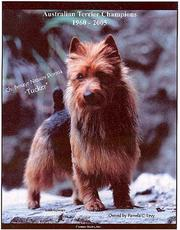 Cover of: Australian Terrier Champions, 1960-2005 |