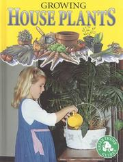 Cover of: Growing House Plants (Maurer, Tracy, Green Thumb Guides.) | Tracy Maurer