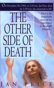 Cover of: The other side of death