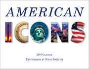 Cover of: American Icons 2004 Calendar