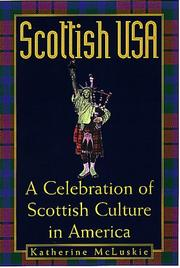 Cover of: Scottish USA