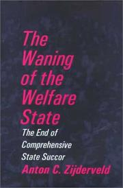 Cover of: The Waning of the Welfare State
