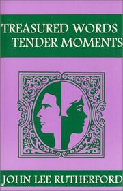 Cover of: Treasured Words, Tender Moments