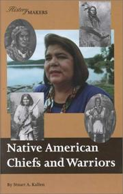 Cover of: Native American Chiefs & Warriors (History Makers)