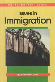 Cover of: Issues in Immigration (Way People Live Series)