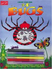 Cover of: Create Your Own 3-D Bugs