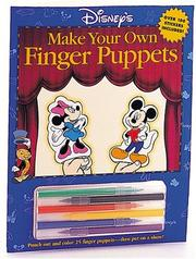 Cover of: Disney's Make Your Own Finger Puppets
