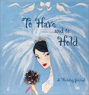 Cover of: To Have and to Hold