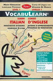 Cover of: Vocabulearn Italian/Inglese Level 1 (VocabuLearn) | Penton Overseas Inc