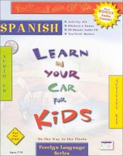 Cover of: Liyc Kids Spanish (Learn in Your Car Kids)