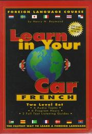 Cover of: Learn in Your Car - French, 2 Level Set