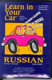 Cover of: Learn In Your Car