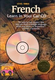 Cover of: French: Learn in Your Car Cd