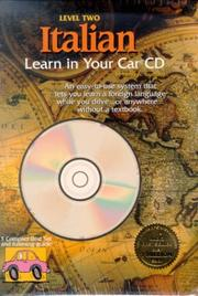 Cover of: Italian: Learn in Your Car Cd