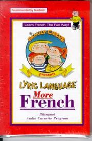 Cover of: Lyric Language: French/English: Series 2