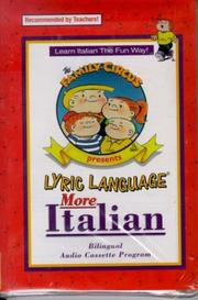 Cover of: Lyric Language: Italian/English: Series 2