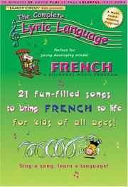 Cover of: French: A Bilingual Music Program