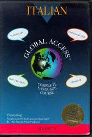 Cover of: Global Access: Italian : Complete Language Course