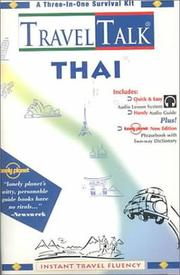 Cover of: Lonely Planet Travel Talk Thai