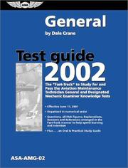Cover of: General Test Guide 2002 | Dale Crane