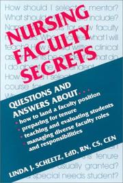 Cover of: Nursing Faculty Secrets