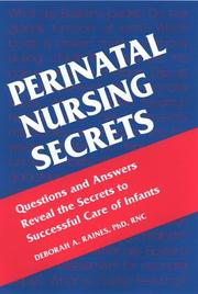 Cover of: Perinatal Nursing Secrets | Suzanne M. Levasseur