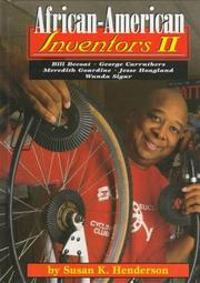 Cover of: African-American Inventors II