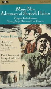 Cover of: More New Adventures of Sherlock Holmes - Volume 15 | Anthony Boucher