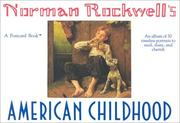 Cover of: Norman Rockwell's American Childhood