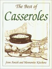 Cover of: Mini Cookbook Collection: BEST OF CASSEROLES WITH ENVELPOE (Miniature Cookbook Collection)