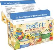 Cover of: Fix-It And Forget-It Box of Recipe Cards