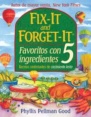 Cover of: Fix-it and Forget-it Favoritos Con 5 Ingredientes