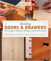 Cover of: Building Doors and Drawers