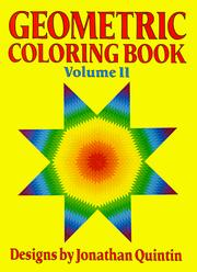 Cover of: Geometric Coloring Book/1422 (Geometric Coloring Book)