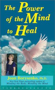 Cover of: Power of the Mind to Heal