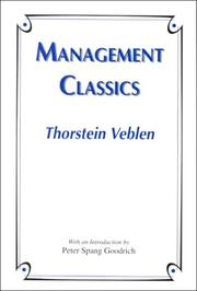 Cover of: Management Classics
