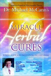 Cover of: Miracle Herbal Cures