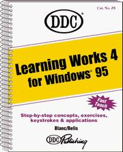 Cover of: Learning Microsoft Works 4 for Windows 95
