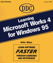 Cover of: Learning Microsoft Works 4 for Windows 95 (Learning S)
