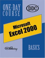 Cover of: Excel 2000, Basics One-Day Course (One Day Course)