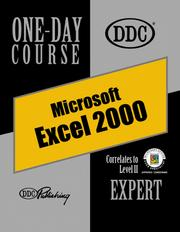 Cover of: Excel 2000 Expert One Day Course