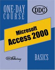 Cover of: Access 2000, Basics One-Day Course (One Day Course)