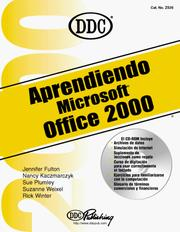 Cover of: Learning Microsoft Office 2000