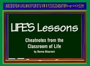 Cover of: Life's Lessons