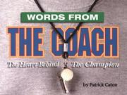 Cover of: Words from the Coach